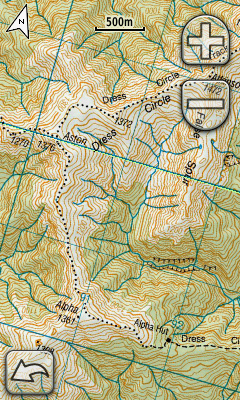 Garmin Oregon 450 screenshot